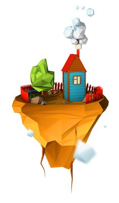 Islands by Moek , via Behance