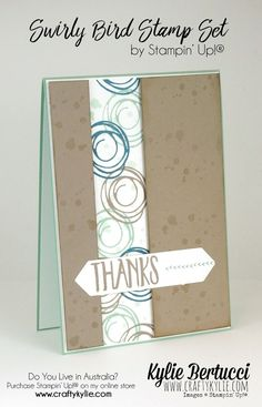 Stampin' Up! Australia: Kylie Bertucci Independent Demonstrator: Global Design Project 038 | Sketch Challenge