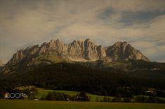 """""""Wilder Kaiser"""" Panorama Going Austria by flostu #ErnstStrasser #Austria #Österreich"""