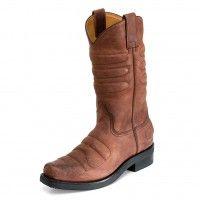 17257 Bota Piel Marron #ShopBoots #BotasOnline #botas #boots #Sendra