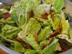 Paleo Caesar Salad is a new staple in our house.