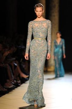 Pictures - Best of Elie Saab Haute-Couture Paris Fashion Week Fall/Winter 2012/2013 - Atlanta Fashion | Examiner.com