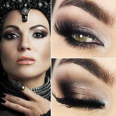 Tutorial – maquiagem inspirada em Regina Evil Queen de Once Upon a Time                                                                                                                                                                                 More