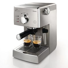Personal Edge : Poemia Manual Espresso machine