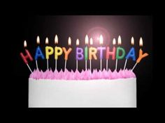 Happy birthday to you - YouTube