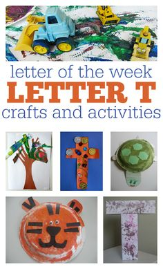 letter of the week letter t activities