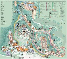 Map Of San Antonio Attractions Zoo Map Click On Map For A - Georgia zoo map