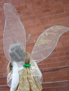 ~~pinned from site directly~~ . At Second Street: iridescent fairy wings Tutu En Tulle, Kids Dress Up, Halloween Costumes, Angel Costumes, Witch Costumes, Fairy Costumes, Easy Halloween, Halloween Party, Iridescent