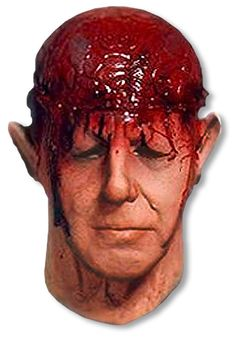 Zombie Braindead Foam Latex  Mask