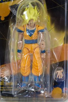 Dragon Ball Z Super Saiyan Son Gokou Shodo Action Figure BANDAI JAPAN ANIME