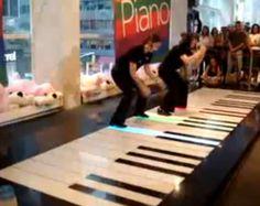 feet piano