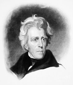 Andrew Jackson (1767-1845) Photograph by Granger