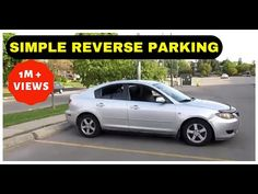 REVERSE PARKING Simplified | Method 1 - YouTube Driving Basics, Driving Test Tips, Driving School, Driving Instructions, Parallel Parking, Reverse Parking, Learning To Drive, New Drivers, Helping The Homeless