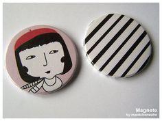 Maedchenwahn Homedecor // Magnets
