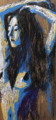 "For Sale: Uncomfortably Confined by Eric Buchmann   $100   13""w x 26""h   Original Art   http://www.vangoart.co/buy/art/uncomfortably-confined @VangoArt"