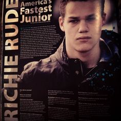 Check out the latest Decline Magazine to read up on Americas faster junior, Richie Rude.