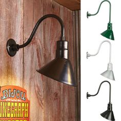 Affordable barn lights bend into any angle you want!