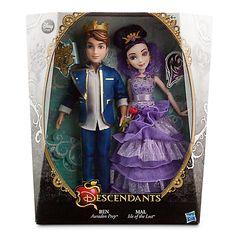 Disney Descendants Ben & Mal Exclusive Doll [Coronation] - Most Wanted Christmas Toys Descendants Ben, Disney Descendants Dolls, Disney Dolls, Disney Xd, Cute Disney, Disney Store, Dolls And Daydreams, Decendants, Descendants