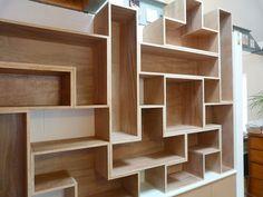 Tetris Style Shelves