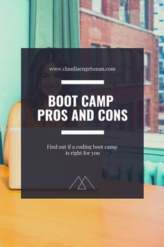 Having completed a coding boot camp I tell you about it's pros and cons to help you figure out if it's the right step for you.