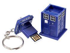Who needs this Tardis flash drive?.... ME!!:)