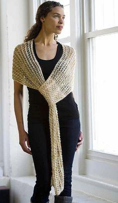 Ravelry: Smart Shawl pattern by Lynn Wilson. Running short of yarn? scarves patterns ravelry Smart Shawl pattern by Lynn M. Crochet Shawls And Wraps, Crochet Poncho, Knitted Shawls, Crochet Scarves, Crochet Clothes, Crochet Hats, Crochet Granny, Knitting Scarves, Crochet Stitch