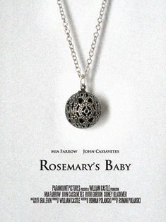 Rosemary's Baby Tanis / Tannis Root Necklace Movie Prop Replica Mia Farrow
