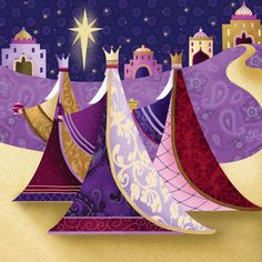Joe Parry, 'We Three Kings' (2012) http://www.joparryart.com/portfolio/we-three-kings/