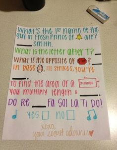 Yes. Ask me out like this!