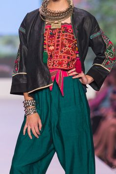 ibu Movement Runway Collection | Miao Jacket, Mirrored Bustier and Thai Silk Pants