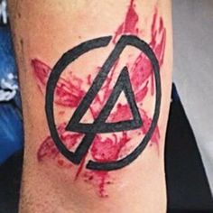 Nice Linkin Park tattoo! This on the mid left arm. lp