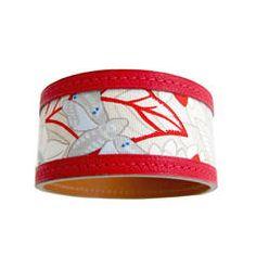 Hermes Petit H Silk Leather Bracelet One of a Kind