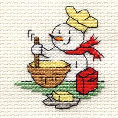 Mini Cross Stitch - Christmas
