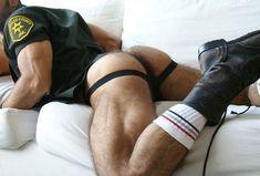 Just love men in jockstraps...
