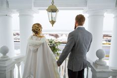 A Nice Day For White Wedding At The Beautiful Peter Shields Inn In Magical Cape May Nj Snowstormjonas Petershieldsinn Winterwedding