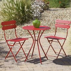 Found it at Wayfair - Newark 3 Piece Bistro Set