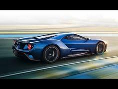 Yeni Ford GT supercar 2015 Detroit Otomobil Fuarı'nda ortaya cıktı