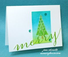 Jean card Merry