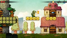 """Sega classic 'Wonder Boy III' remake is decidedly modern  The   Wonder Boy   series originally debuted in arcades in 1986, spawning five sequels over the next few years, namely  Wonder Boy III: The Dragon's Trap . That platformer made its way to the  Sega Master System  in 1989, featuring colorful and rich gameplay with """"Metroidvania"""" elements and rave reviews from critics upon its release.  Now, developer Lizardcube and publisher DotEmu are looking to bring the classic to lif.."""