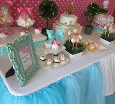 Hello Kitty Party Ideas! I think Sydney and Jaden would both be happy with this for a birthday party theme! Lol one will be 18 and the other will be 4!
