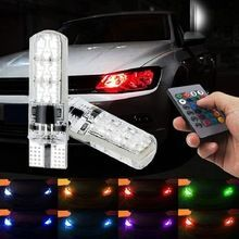 2 Pieces Flash Strobe Fade Smooth Remote Controlled Colorful Led
