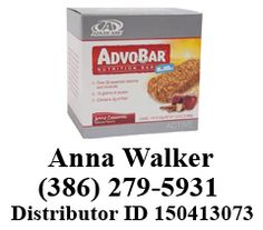 AdvoBar® a.m. Apple Cinnamon provides balanced nutrition and a great taste. Anna Walker | (386) 279-5931 advocare.com/150413073  advocare150413073.blogspot.com  #nutritionbar #nutritionalbar #nutritionalsupplements #advocare