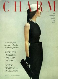 Charm Cover, June 1951 - I would totally wear that now!