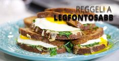 The Ultimate Breakfast Sandwich Upgrade classic bacon, egg and cheese sandwiches with bacon jam, griddle-cooked eggs, gooey melted Gruyere and peppery arugula. Breakfast Sandwich Recipes, Lunch Recipes, Cooking Recipes, Breakfast Dishes, Breakfast Ideas, Cooking Tips, Easy Recipes, Egg And Cheese Sandwich, Bacon Jam