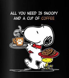 Snoopy as Coffee!
