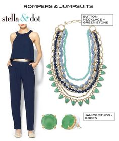 Great outfit ideas.  Accessorized with Stella  Dot!  Love it?   Want it? Get it it here at Www.StellaDot.Com/Sacramento.  Starting at $24.