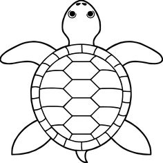 awesome Tortoise Turtle Top View Coloring Pages - Tattoo MAG Turtle Coloring Pages, Train Coloring Pages, Coloring Pages For Boys, Cartoon Coloring Pages, Animal Coloring Pages, Free Coloring Pages, Mosaic Patterns, Embroidery Patterns, Sea Creatures Drawing