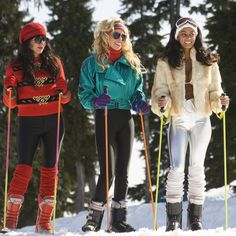 11 ways skiing was totally different in the '80s - Ski suits were skin tight