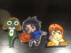 Anime earrings