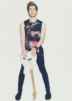 I need that guitar it's so awesome